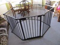 Child Playpen Steel 6 panels Safety Gate