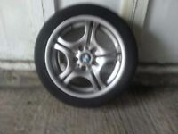 Genuine BMW alloy wheels and tyres