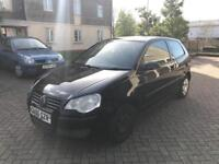 2006 Volkswagen Polo E 55 1.2 cc 3 door In a lovely Black Mint Condition