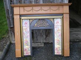 Fireplace Surround And Mantelpiece .
