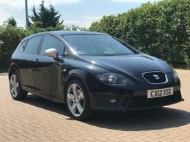 Seat Leon FR + Plus Cr TDI 2012 Hpi Clear Small Damage With Parts