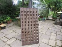 Wine Rack/Riddling Rack - Solid Oak