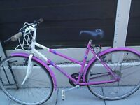 Ladies classic style road bike