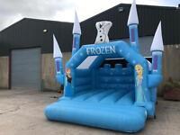 2015 frozen bouncy castle
