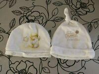 Baby hats and mittens set Newborn