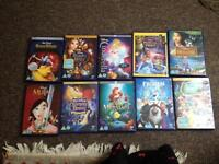 Disney DVDs X 35 ( incl; Disney princess collection)