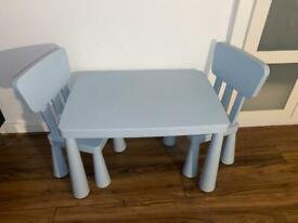 Children's Table + Chairs