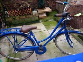 Kingston Women's Elmbridge City Bike - Blue, 16 Inch