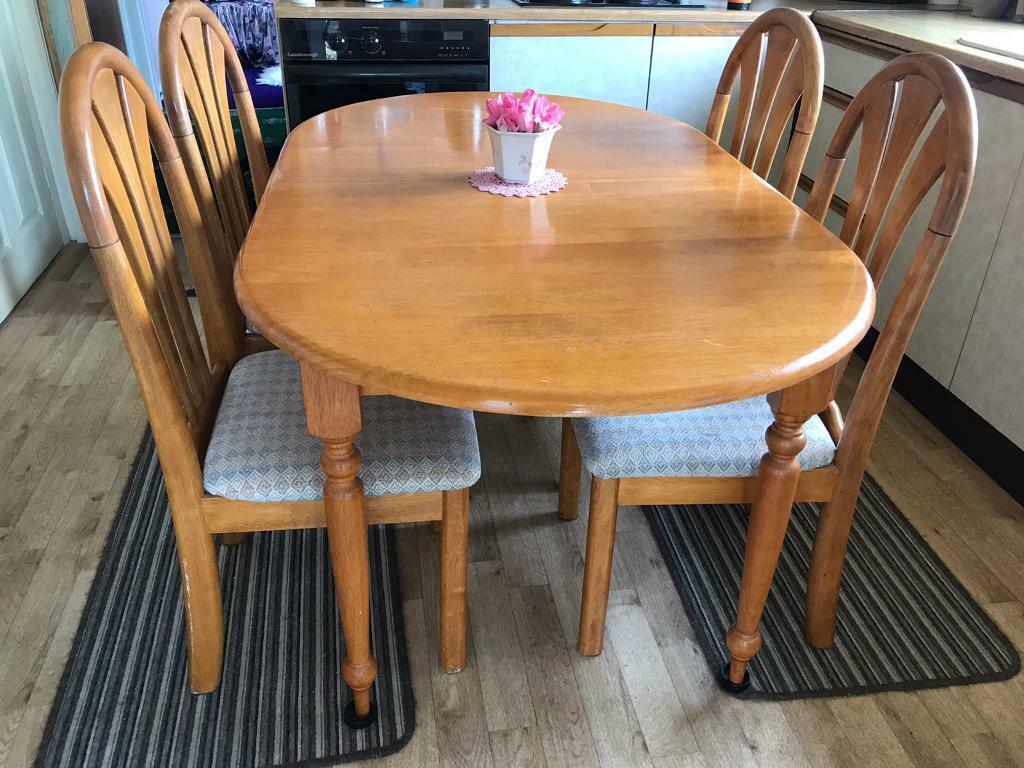 Dining table set | in Midsomer Norton, Somerset | Gumtree