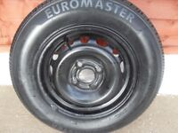 corsa wheel and tyre