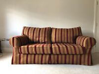 Striped sofa for Sale | Sofas, Couches & Armchairs | Gumtree
