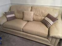 LAND OF LEATHER 3+2 Seater Sofa Set, Genuine Top Quality Leather