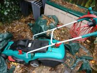 Bosch lawnmower Rotak 40 little used LOW PRICE FOR QUICK COLLECTION