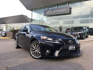 2014 Lexus IS 250 Premium Pkg AWD Back Up Cam Leather Sunroof Bl