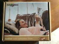 Leather sofa care collection kit (new)