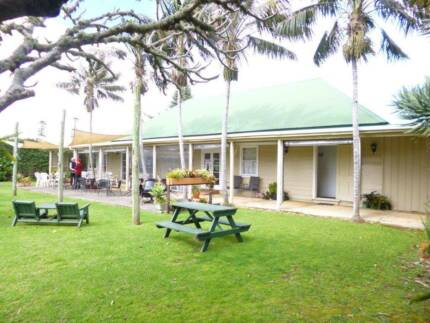 Popular Bar and Cafe on Norfolk Island - Ready for a SeaChange?