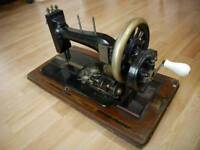 Antique 1890s sewing machine