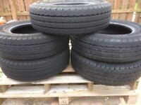 Tyres Van Tyres 185 x 75 x 14 Like New £35 EACH or £150 for all 5