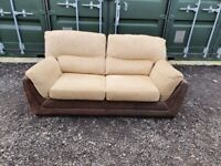 Set of 3 Seater Sofa Bed + 3 Seater Sofa , DELIVERY INCLUDED IN PRICE,Videoavailable!