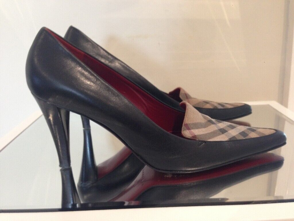on sale 0f2fc 3ef4e Authentic Designer Burberry shoes size 5 6 5.5 Burberry print red soles |  in Blandford Forum, Dorset | Gumtree