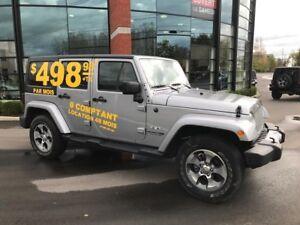 2018 Jeep Wrangler JK Unlimited Sahara 498$ tx/mois location 48