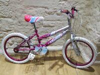 """Girls kids Bike 18"""" 7-10 years"""