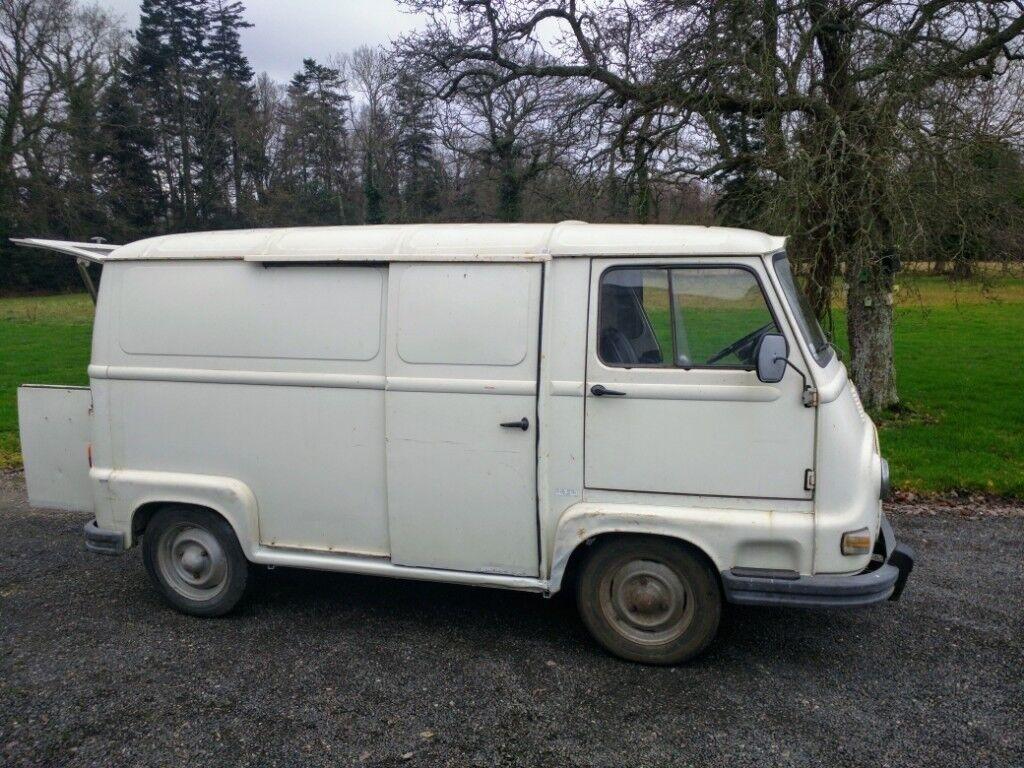 f3c47e5d3f Estafette Renault Vintage Van Coffe Unit Food Truck Micro Camper French MOT  1976