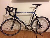 62cm Focus Variado Bike with shimano 105 groupset
