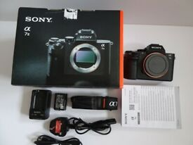 SONY A7 II BODY, 3 BATTERIES, SHUTTER COUNT 42, MINT CONDITION
