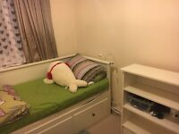 Nice a spacious single room in 2 bed flat !!!available till june