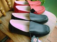 2 Pairs of Leather Shoes size 7 Brand New with Tags!