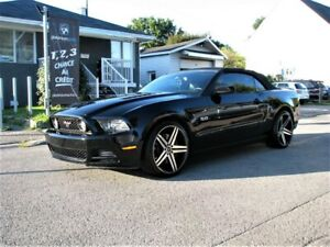 2014 Ford Mustang GT 5.0 convertible manuelle cuir 30000km