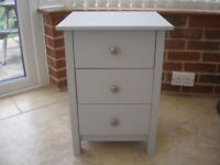 Shabby Chic French Grey Chest of Drawers