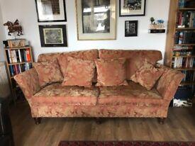Duresta sofa for sale in excellent condition