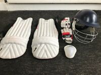 Cricket equippent + luggage