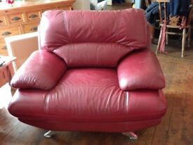 Three Seat Sofa with matching armchair