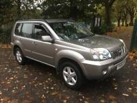 NISSAN X-TRAIL 2.2 dCi 136 SE 5dr 3 MONTHS WARRANTY ++ FREE DELIVERY WITH IN 100 MILES (silver) 2007