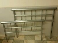 New single metal bed frame can deliver for free or collection