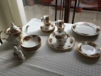 Royal Albert Old Country Rose/ Elizabethan fine china