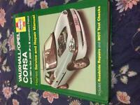 Haynes Vauxhall Corsa book 97-00