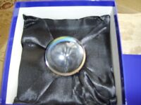NEW TITANIAS CRYSTAL BALL ,BOXED ,WITH INSTRUCTION BOOK.