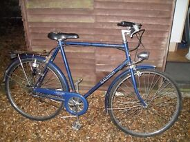 Vintage Raleigh Chilton bicycle - works fine