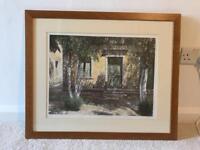 Oleander shadows - Micheal wood painting