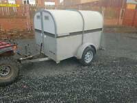 Bateson 6x4 livestock trailer rear loading ramp chequered floor
