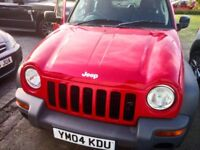 Jeep Cherokee 2.4L Petrol Manual - Spare / Repairs 4 NEW tyres