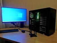 GAMING PC - i7 6700 - 16GB RAM - RTX 2060 SUPER - 480GB SSD + 1TB HD - WIN 10 - WARRANTY