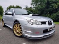 April 2009 (Hawk Eye) Subaru Impreza 2.5 STI Type UK PPP 330bhp DCCD, Full Subaru History! Only 56k!