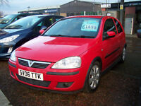 2006 VAUXHALL CORSA SXI PLUS LOW MILAGWE NEW MOT HALF LEATHER ALLOYS UPGRADE HI FI ONLY £1175