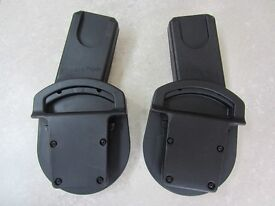 Car seat adaptors for Maxi Cosi car seat and Mamas & Papas Sola buggy