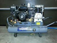 gas motor air compressor